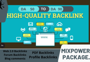 19704I will provide SEO quality, highly active backlinks