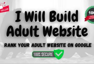 283932I will create adult wordpress website