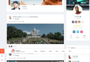 286889I will make you a fully responsive community using WordPress