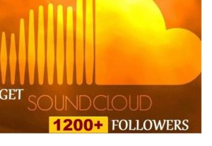 316854get 1200+ SoundCloud Organic and Real Followers instant, Non-drop