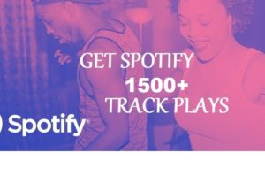 316858Get 1500+ Spotify Track Plays, High Quality, Active User