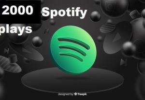 316862Get 2000+ Spotify Track Plays, High Quality, Active User